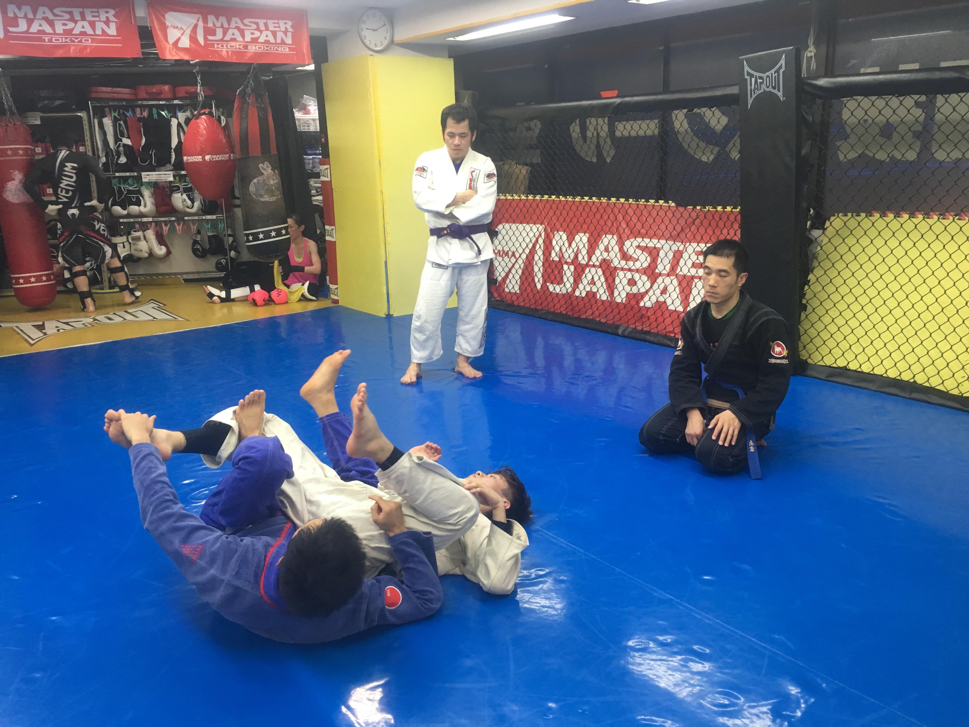 月曜柔術クラス