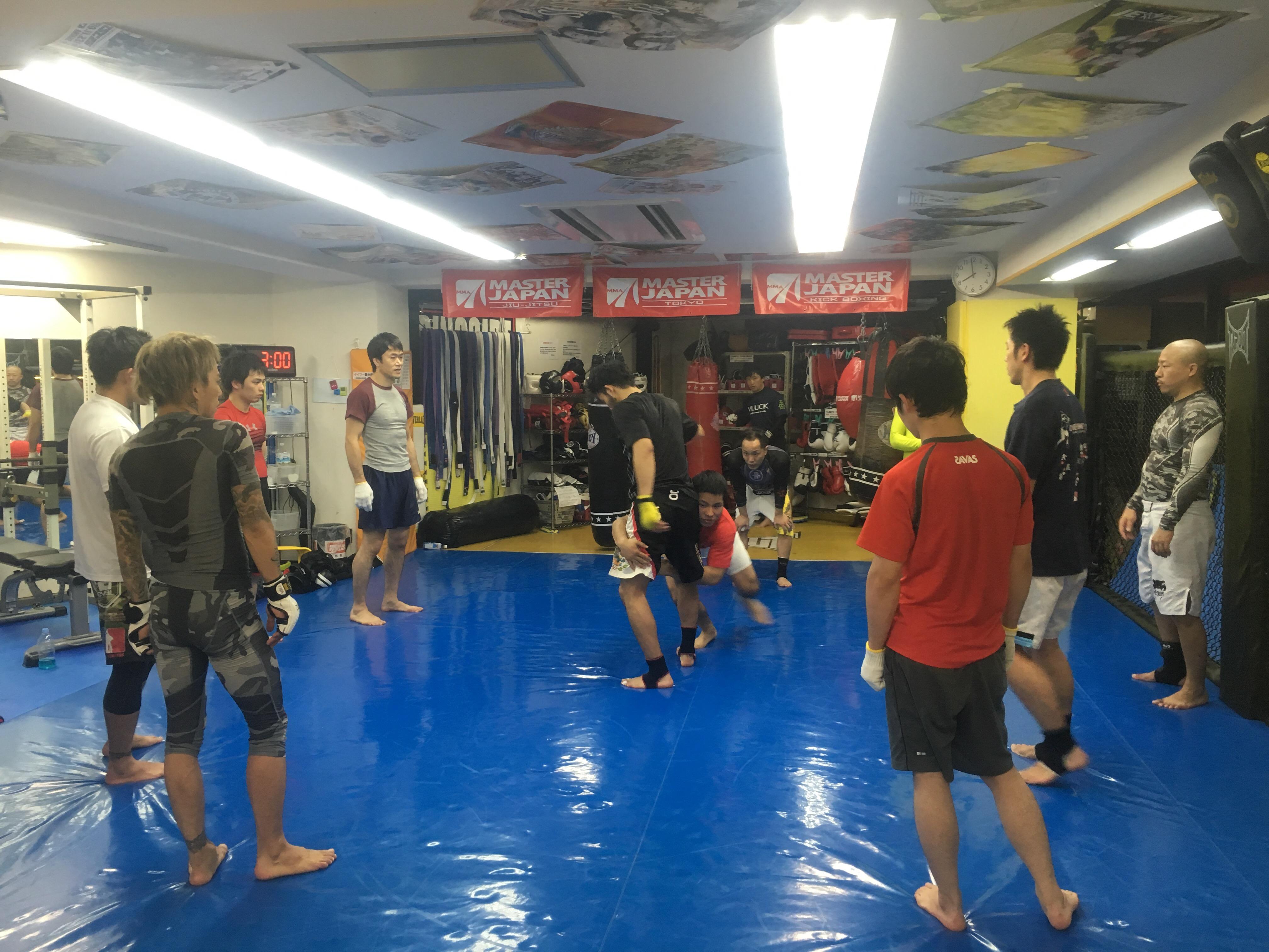 新年初MMAクラス