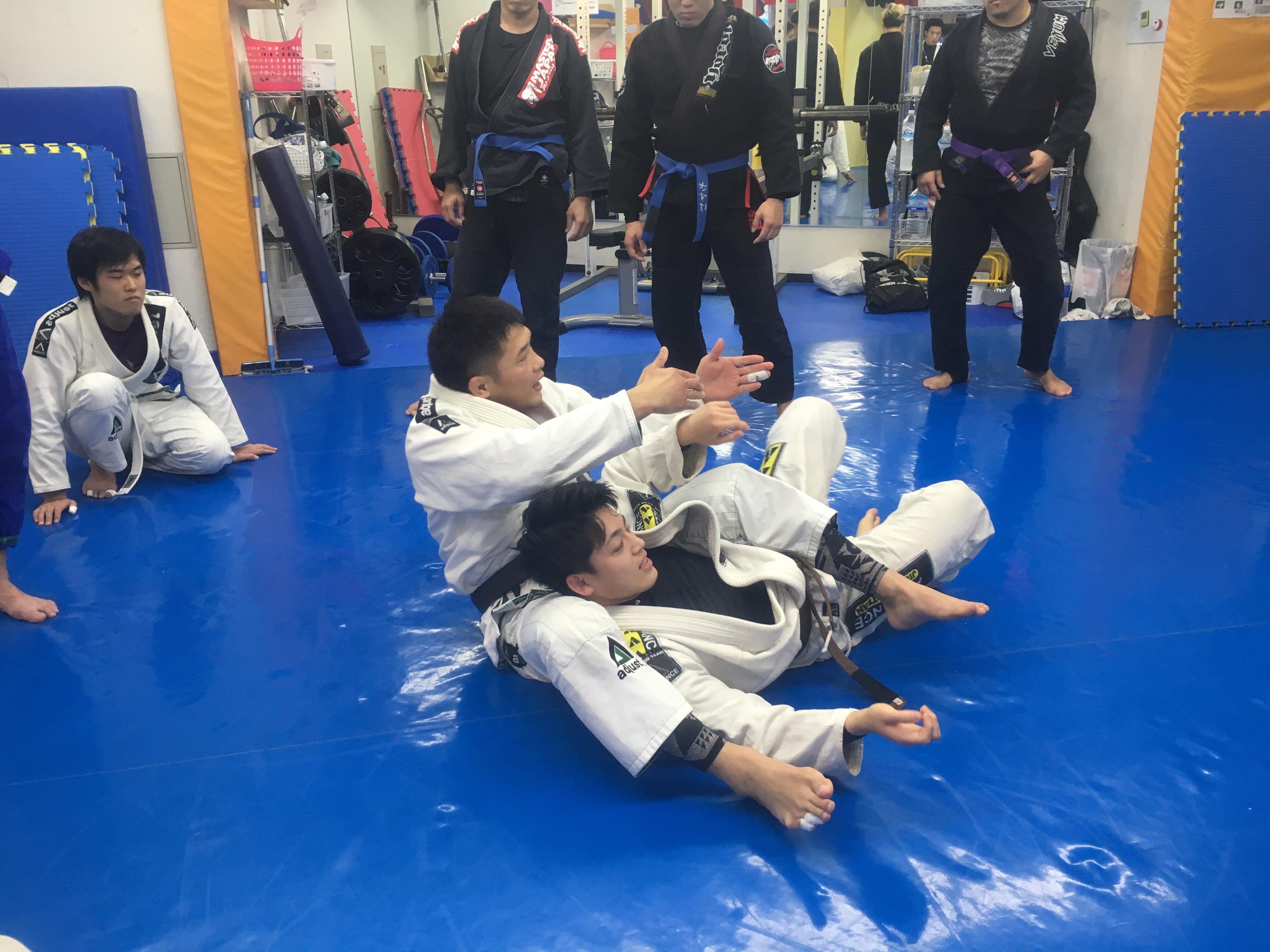 弘中代表柔術クラス大盛況でした!