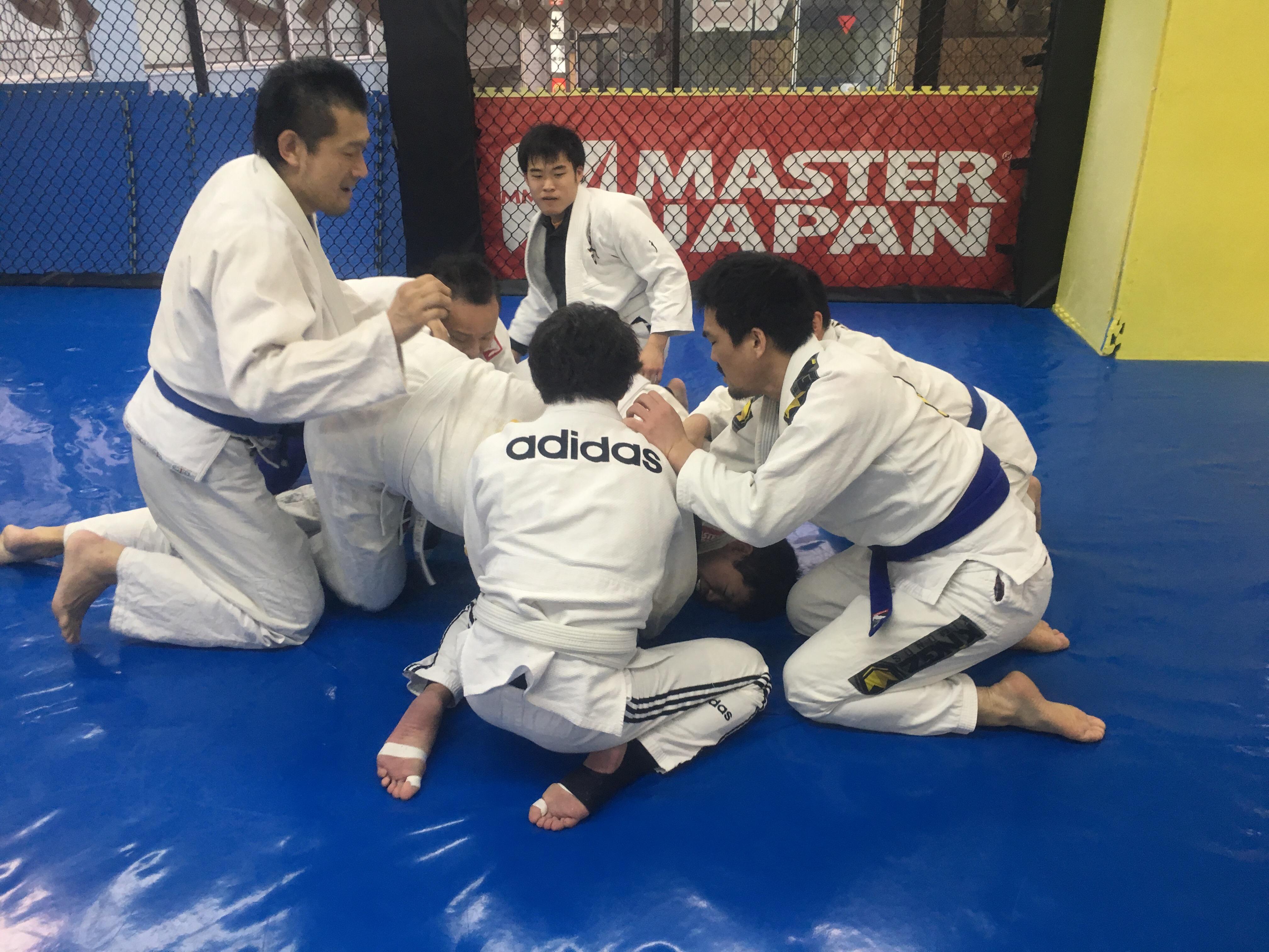 土曜日柔術クラス