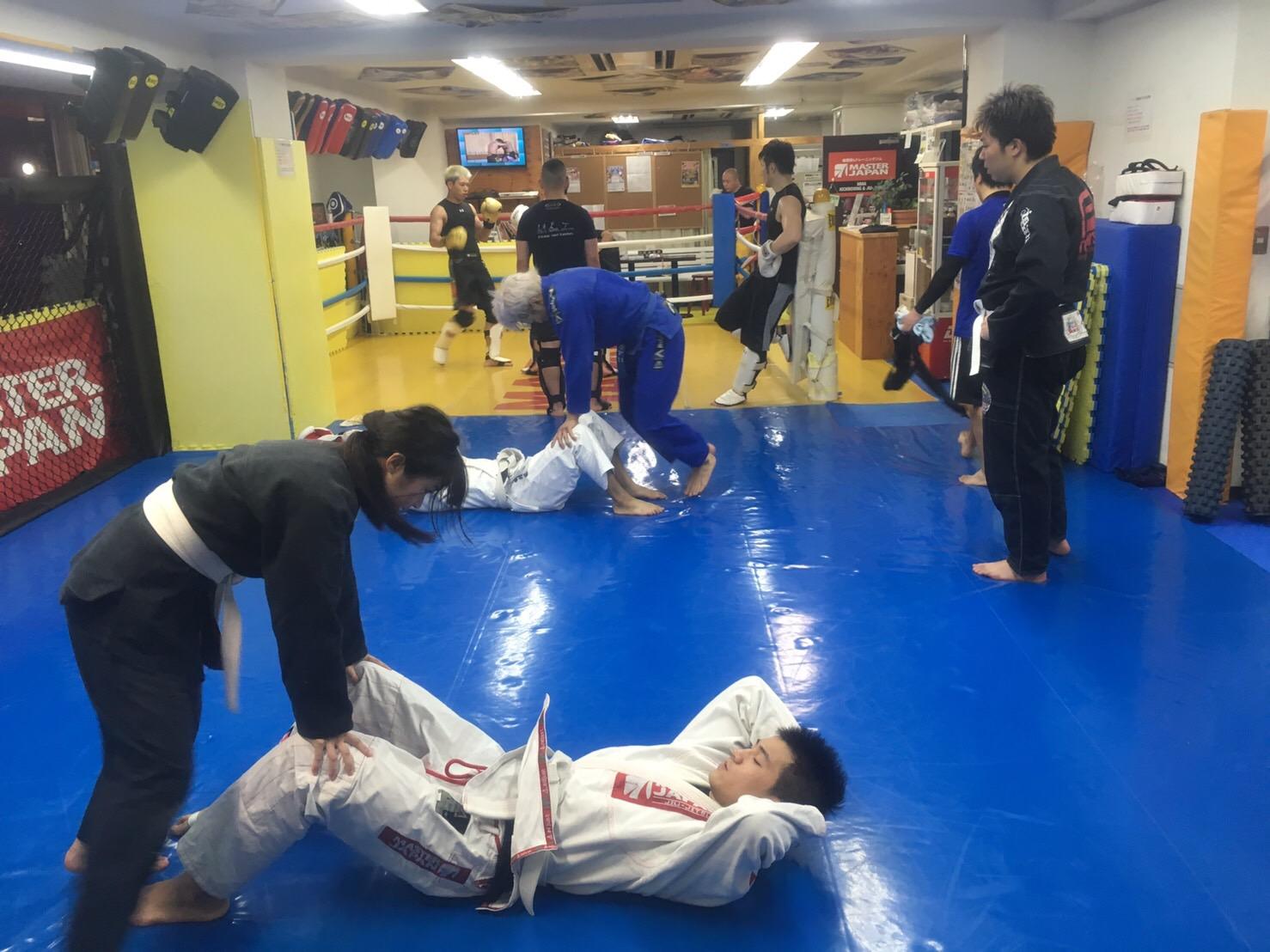 6月12日柔術クラス!