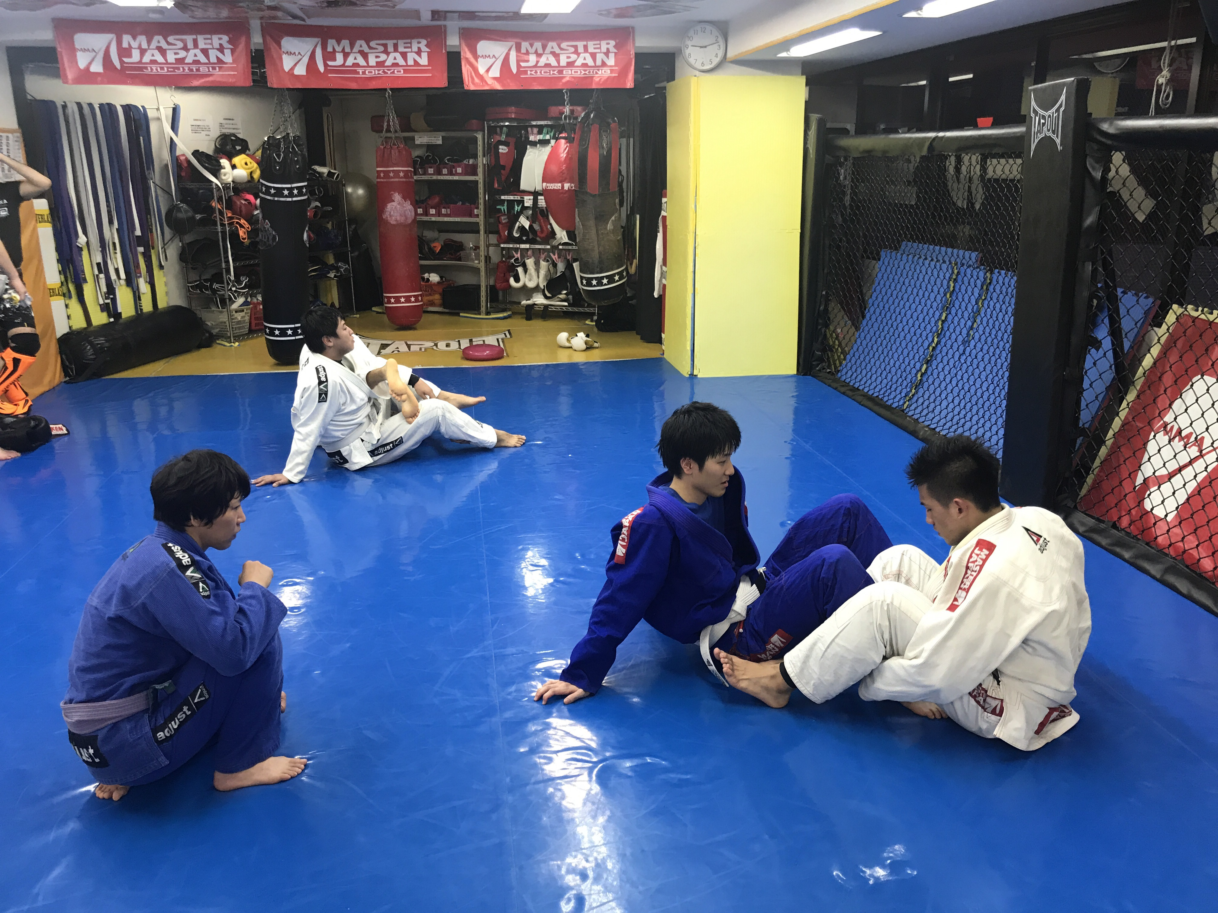 本日の柔術クラス!