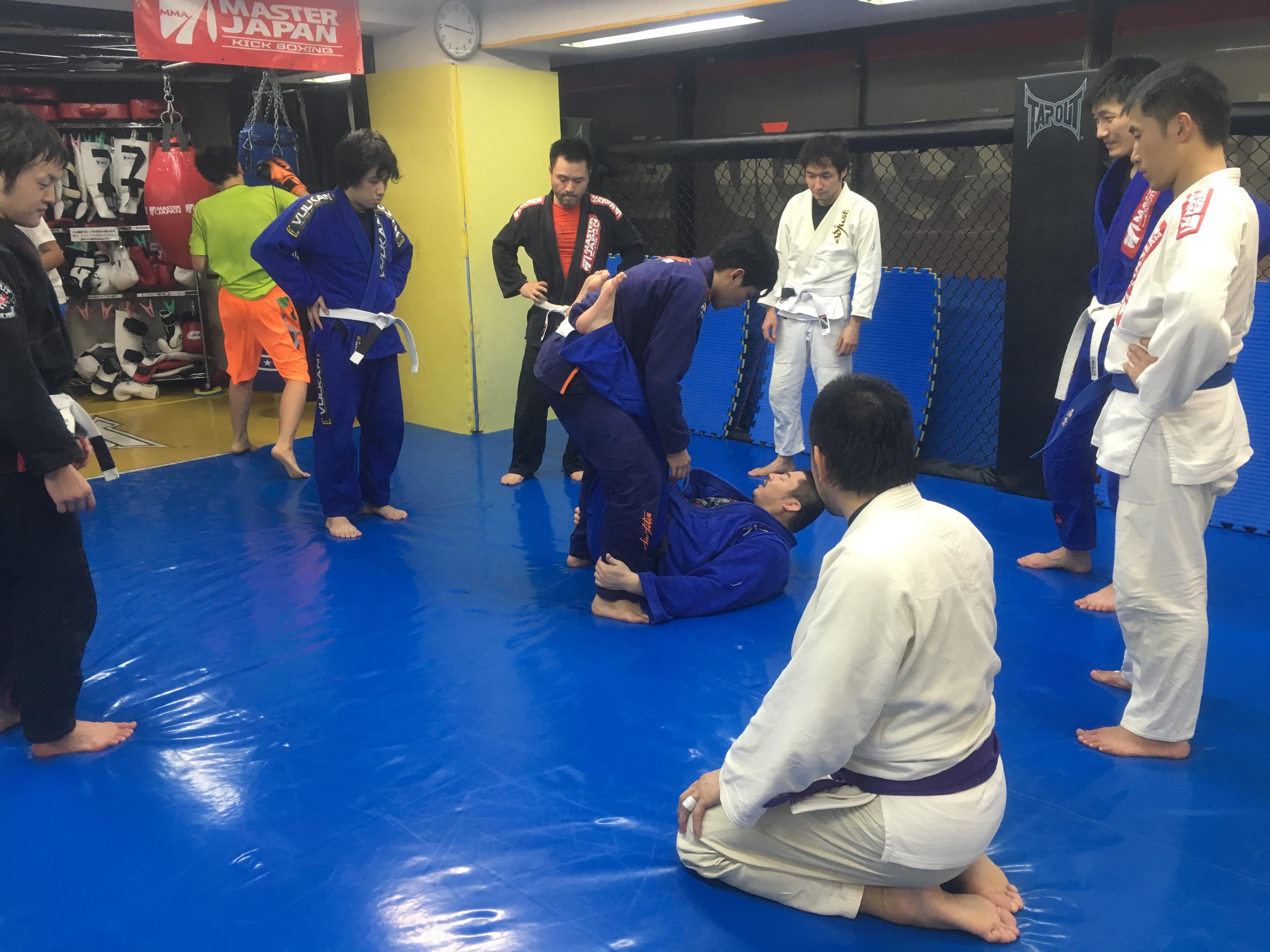 金曜柔術クラス