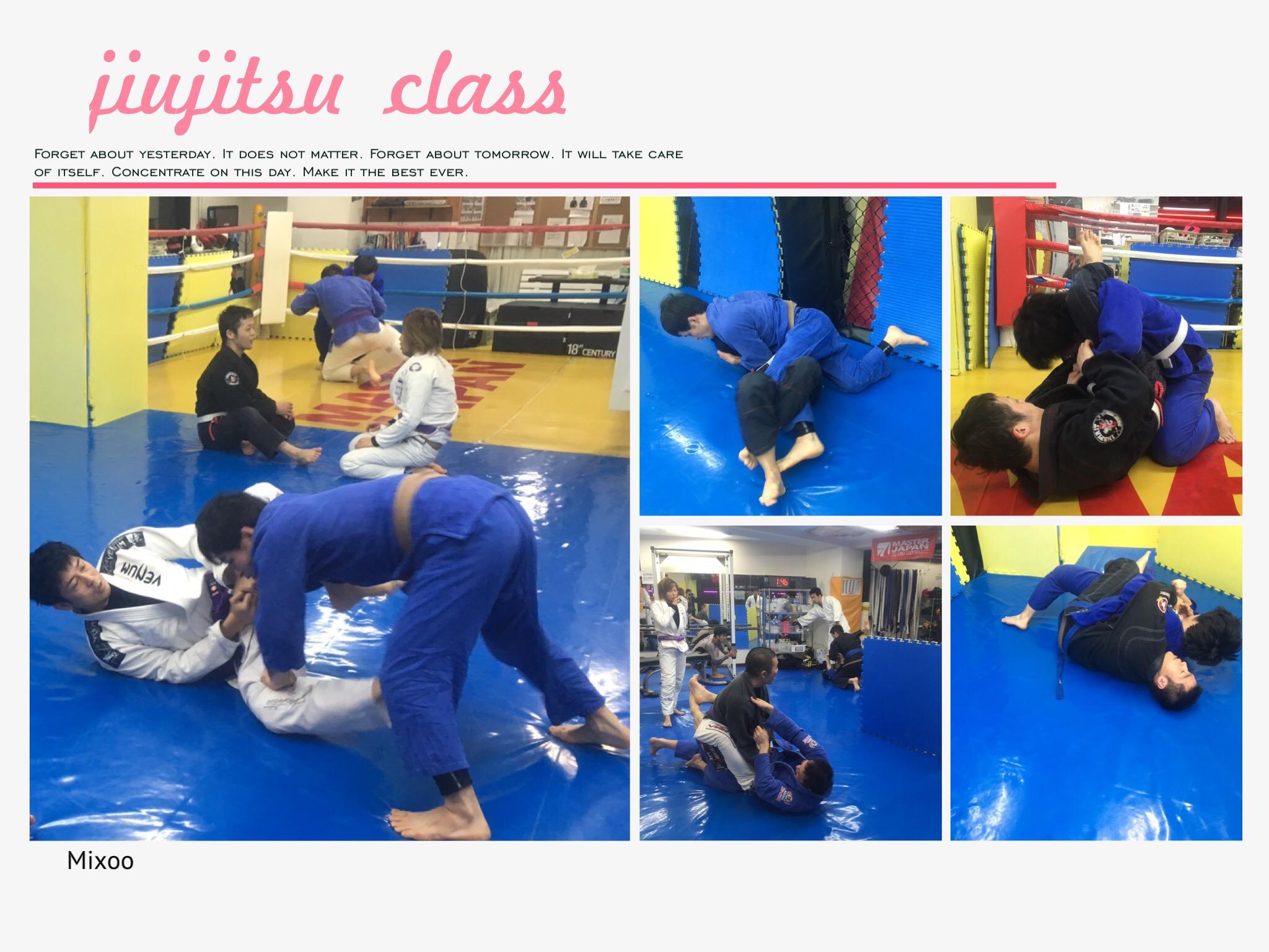 本日の柔術クラス