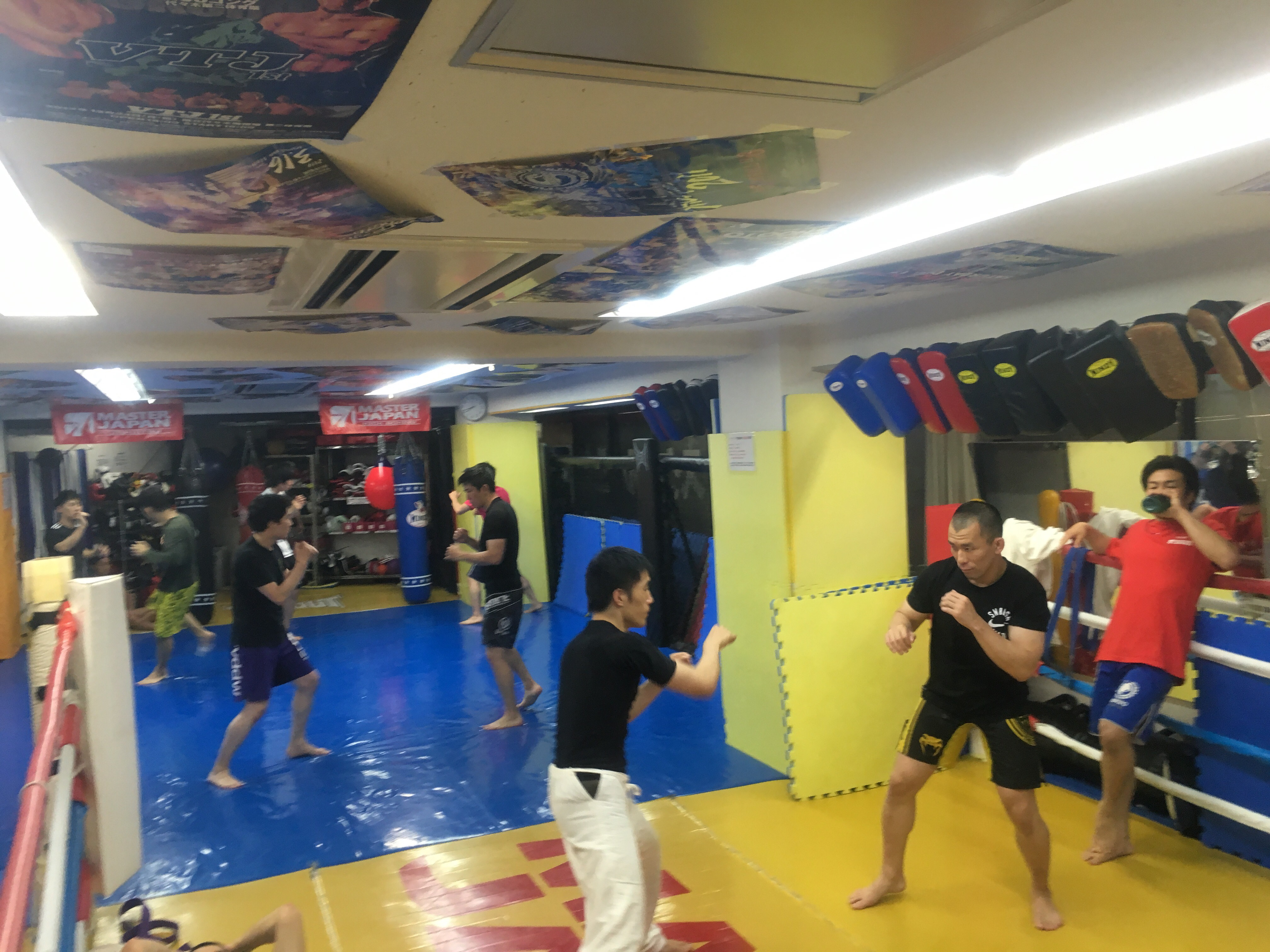MMAクラス盛り上がってます!