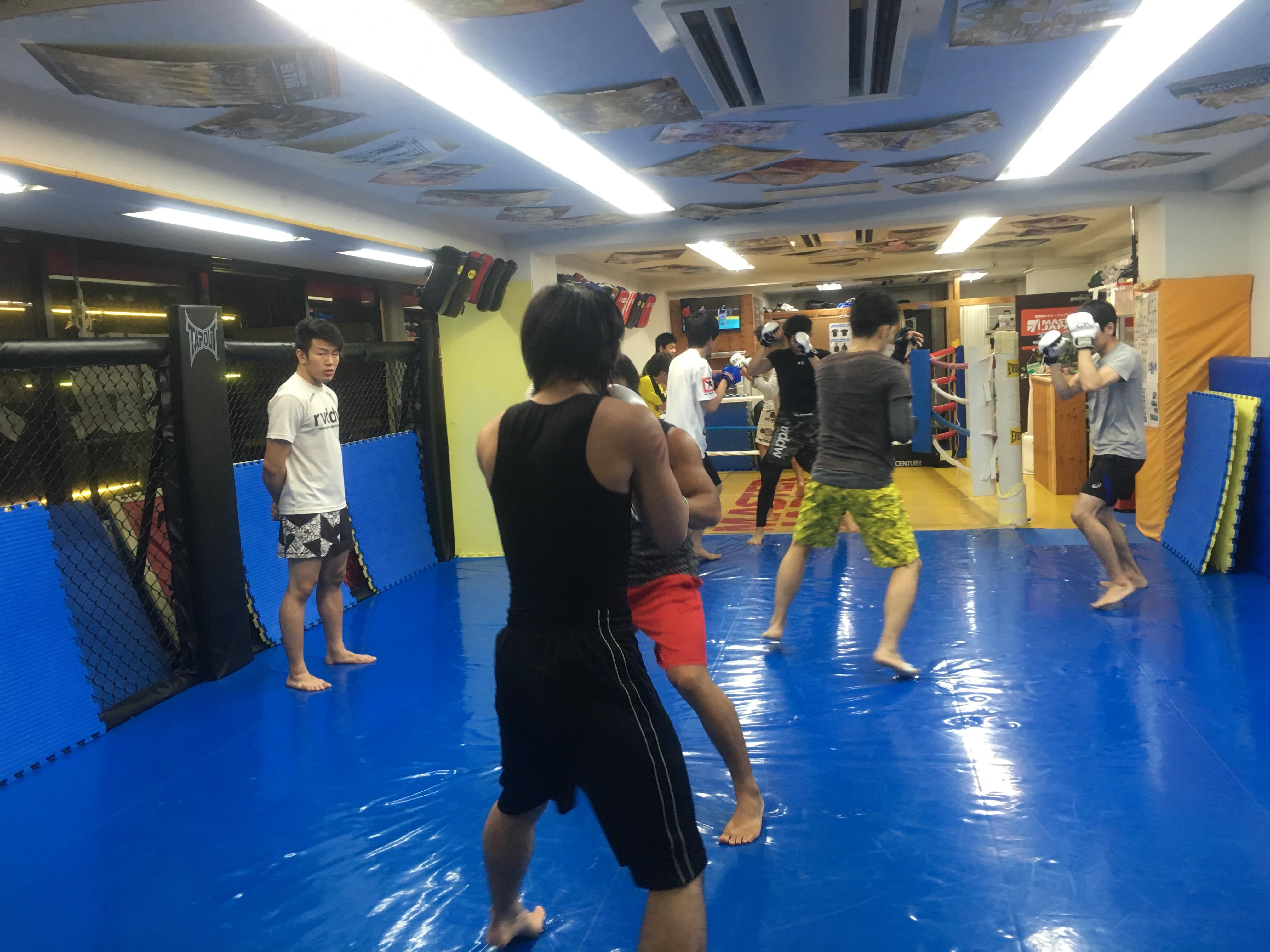MMAクラス盛り上がってます