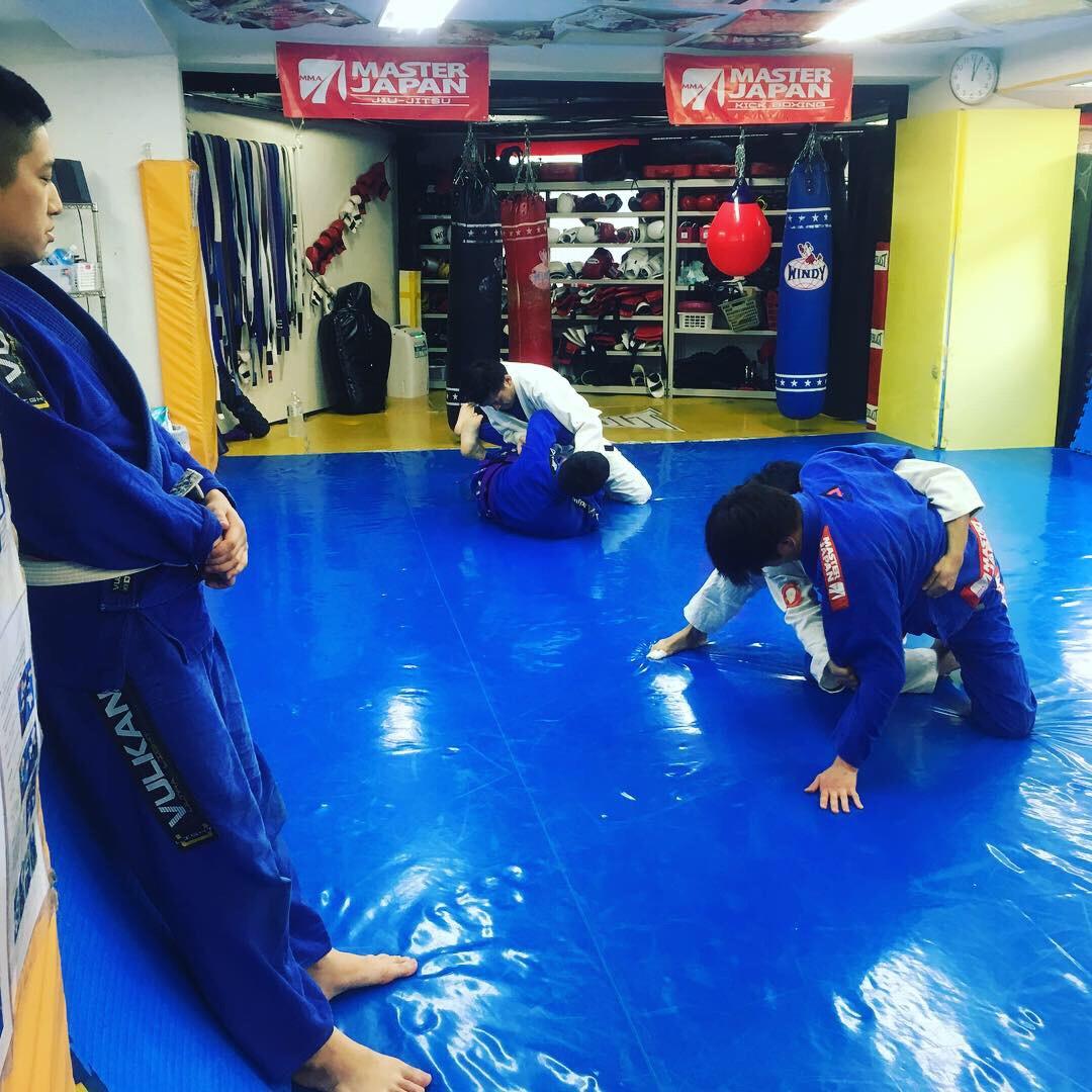 昼柔術クラス