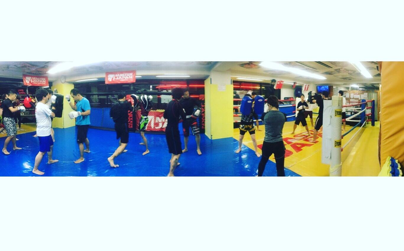 水曜キックボクシング!