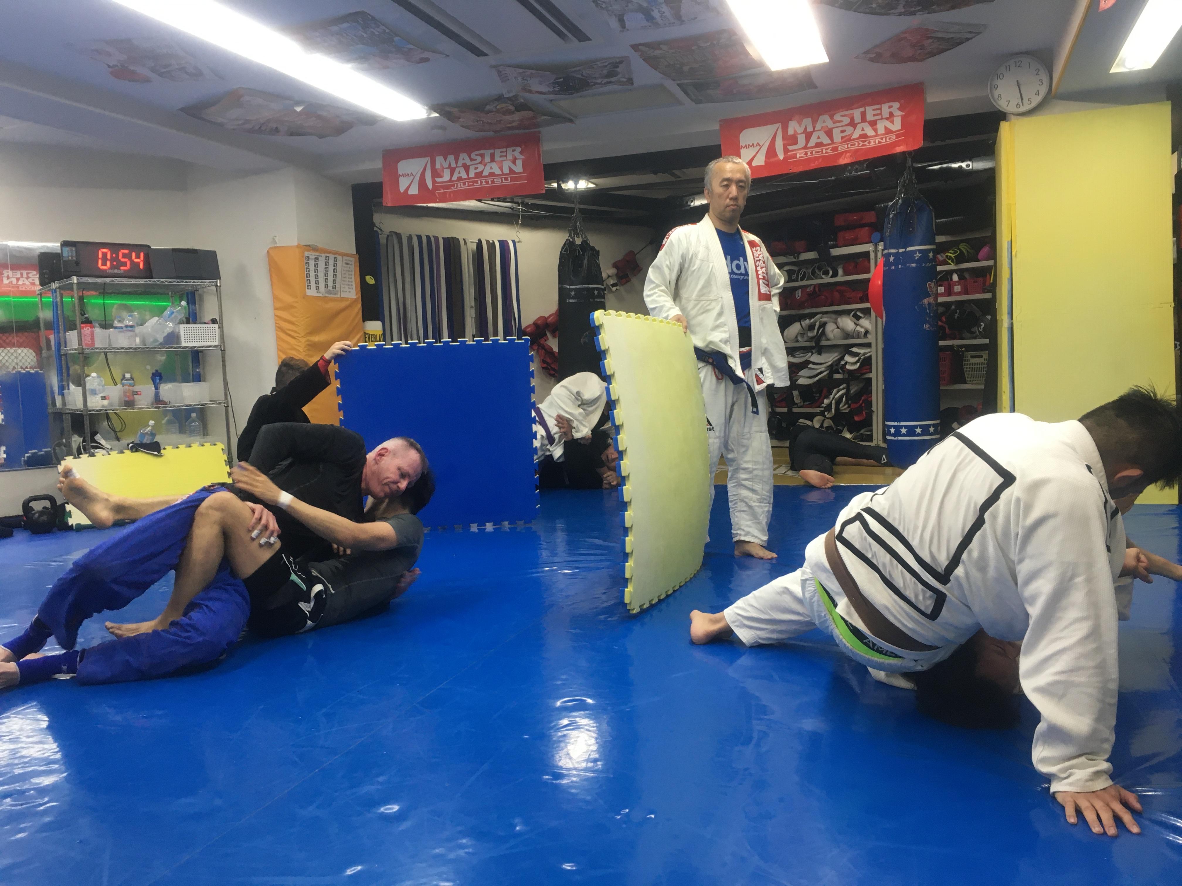 2/10柔術クラスは弘中代表指導です